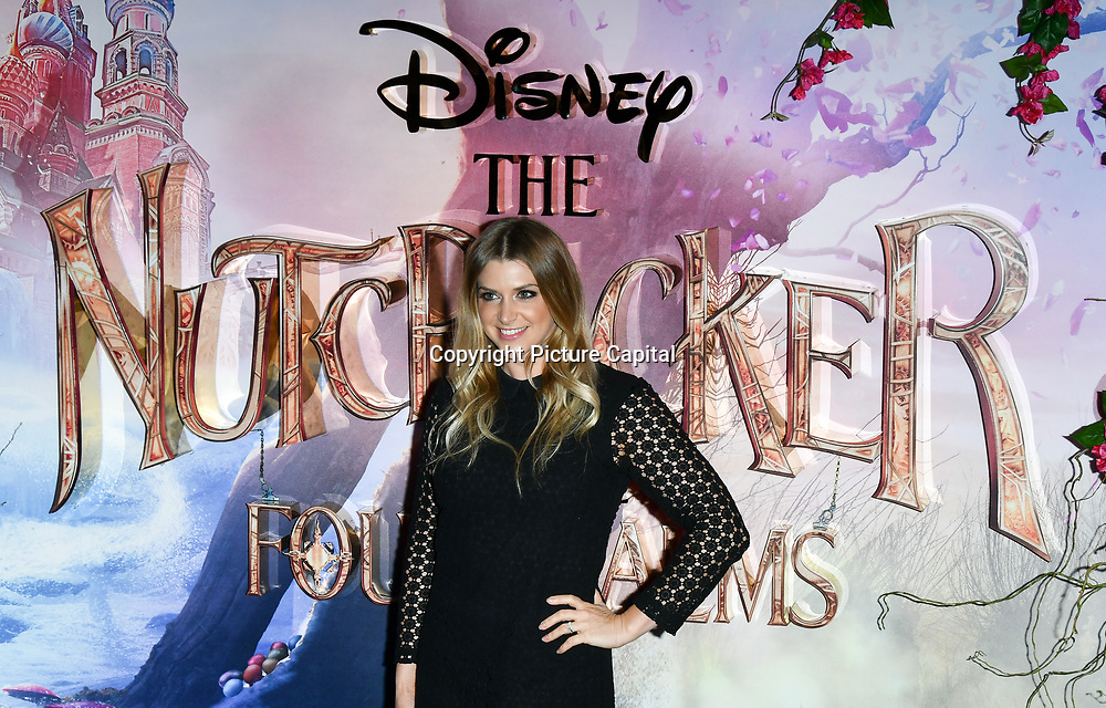Anna Williamson attend The Nutcracker and the Four Realms - UK premiere at Vue Westfield, Westfield Shopping Centre, Ariel Way on 1st Nov 2018, London, UK.