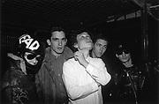 Head Photo Shoot, Bristol Docks, 1984