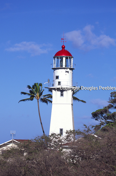 Diamond Head Lighthouse, Waikiki, Oahu, Hawaii<br />