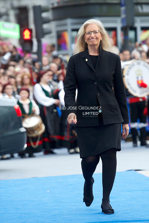 Annie Leibovitz attends the 'Prince of Asturias Awards 2013' ceremony at the Campoamor Theater on October 25, 2013 in Oviedo, Spain.