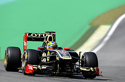 25.11.2011 Autodromo Jose Carlos Pace, Sao Paulo, BRA, F1 Grosser Preis von Brasilien, im Bild Bruno Senna [BRA] Test Driver Lotus Renault GP // during the Formula One Championships 2011 Large price of Abu Dhabi held at the Yas-Marina-Circuit, 2011/11/12. EXPA Pictures © 2011, PhotoCredit: EXPA/ nph/ Dieter Mathis..***** ATTENTION - OUT OF GER, CRO *****