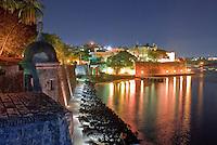 San Juan or Main Gate at night