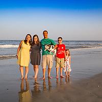 Jesse Walker Family Beach Portraits