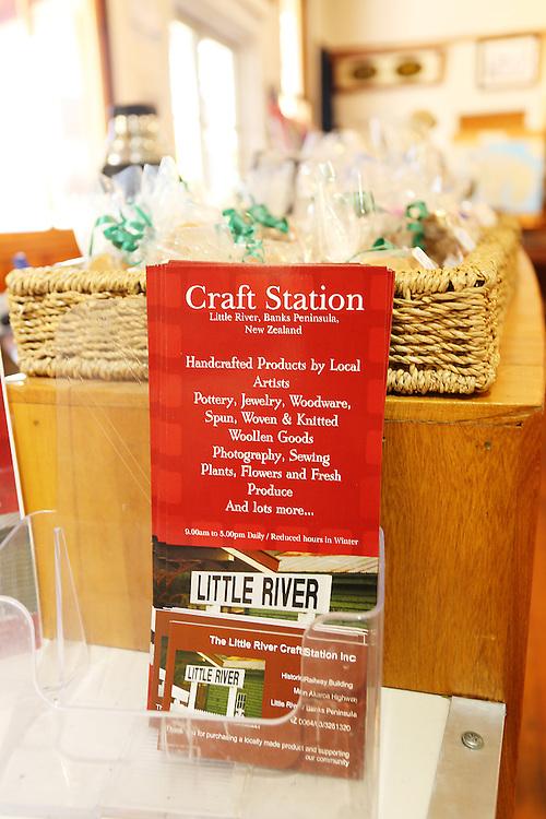 Craft Station, Little River, New Zealand, Thursday, 14 January, 2016.  Credit: SNPA / Pam Carmichael