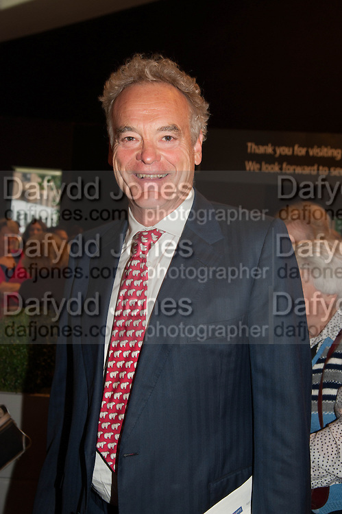 Compton Miller at the opening of The LAPADA  Art and Antiques Fair. Berkeley Sq. London. 24 September 2013.
