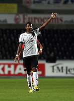Pictured: David Alaba of Austria. Wednesday 06 February 2013..Re: Vauxhall International Friendly, Wales v Austria at the Liberty Stadium, Swansea, south Wales.