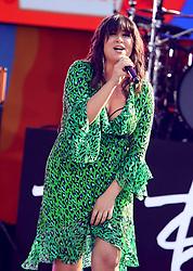August 10, 2018 - New York City, New York, U.S. - Singer EMILY WARREN performs on 'Good Morning America' held in Central Park. (Credit Image: © Nancy Kaszerman via ZUMA Wire)