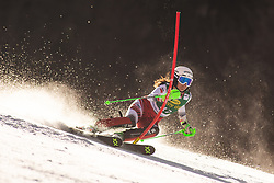 Hannah Koeck (AUT) during the Ladies' Slalom at 56th Golden Fox event at Audi FIS Ski World Cup 2019/20, on February 16, 2020 in Podkoren, Kranjska Gora, Slovenia. Photo by Matic Ritonja / Sportida