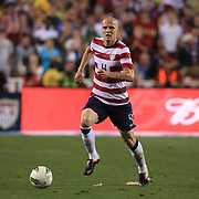 Michael Bradley, USA, in action during the USA V Brazil International friendly soccer match at FedEx Field, Washington DC, USA. 30th May 2012. Photo Tim Clayton