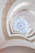 When I was in college—long before my full-fledge fascination with architecture consumed me living in Barcelona—I discovered the Guggenheim on accident one day exploring Manhattan. It was the first building made me feel something, shake my soul a bit. | Architect: Frank Lloyd Wright
