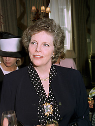 LADY ST.JOHNSTON at a luncheon in London on 28th May 1997.LYU 25