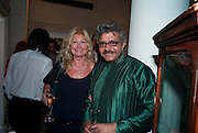 DEBBIE MOORE; OMAR VAJA, The  launch of Bentley & SkinnerÕs new premises with Lady Helen Taylor at 55 Piccadilly. Bentley and Skinner will be giving a percentage of any items sold on the night to CLIC Sargent. 14 September 2010. -DO NOT ARCHIVE-© Copyright Photograph by Dafydd Jones. 248 Clapham Rd. London SW9 0PZ. Tel 0207 820 0771. www.dafjones.com.<br /> DEBBIE MOORE; OMAR VAJA, The  launch of Bentley & Skinner's new premises with Lady Helen Taylor at 55 Piccadilly. Bentley and Skinner will be giving a percentage of any items sold on the night to CLIC Sargent. 14 September 2010. -DO NOT ARCHIVE-© Copyright Photograph by Dafydd Jones. 248 Clapham Rd. London SW9 0PZ. Tel 0207 820 0771. www.dafjones.com.