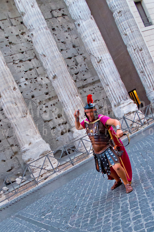 Alberto Carrera, Temple of Hadrian, Piazza of Stone, Piazza di Pietra, Rome, Lazio, Italy, Europe