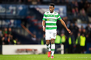 Celtic forward Moussa Dembele (#10) looks on during the Scottish Cup final match between Aberdeen and Celtic at Hampden Park, Glasgow, United Kingdom on 27 November 2016. Photo by Craig Doyle.