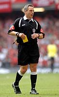 Photo: Daniel Hambury.<br /> Liverpool v West Ham United. The FA Cup Final. 13/05/2006.<br /> Referee Alan Wiley.