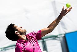 Cristobal Grandon Diaz of Chile during 1st Round of Qualifications at ATP Challenger Tilia Slovenia Open 2016, on August 6, 2016 in Portoroz/Portorose, Slovenia. Photo by Vid Ponikvar / Sportida