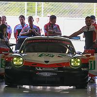 #91, Porsche Motorsport, Porsche 911 RSR (2017), driven by Richard Lietz, Frederic Makowiecki, FIA WEC 2017 Prologue, Autodromo Nazionale Monza, 31/03/2017,