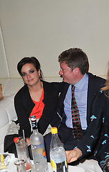 LILY ALLEN and ALEX BILMES at a party to launch Esquire magazine's June issue hosted by new editor Alex Bilmes at Sketch, Conduit Street, London on 5th May 2011.