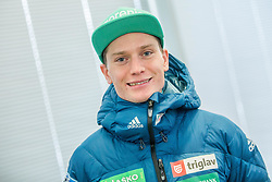 Anze Lanisek Zaba during press conference of Slovenian Nordic Ski team before new season 2017/18, on November 14, 2017 in Gorenje, Ljubljana - Crnuce, Slovenia. Photo by Vid Ponikvar / Sportida