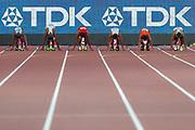 100m Men - Preliminary Round, Heat 3, during the 2019 IAAF World Athletics Championships at Khalifa International Stadium, Doha, Qatar on 27 September 2019.