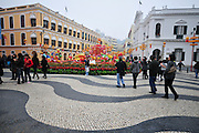 Asia, Southeast, People's Republic of China, Macau, Senado Square