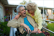Photography of caregivers for the Family Caregiver Alliance in San Francisco - our goal was to show the dedication, the relentless hard work, the compassion and the love, that it takes to be a caregiver for the person they are caring for in their family.