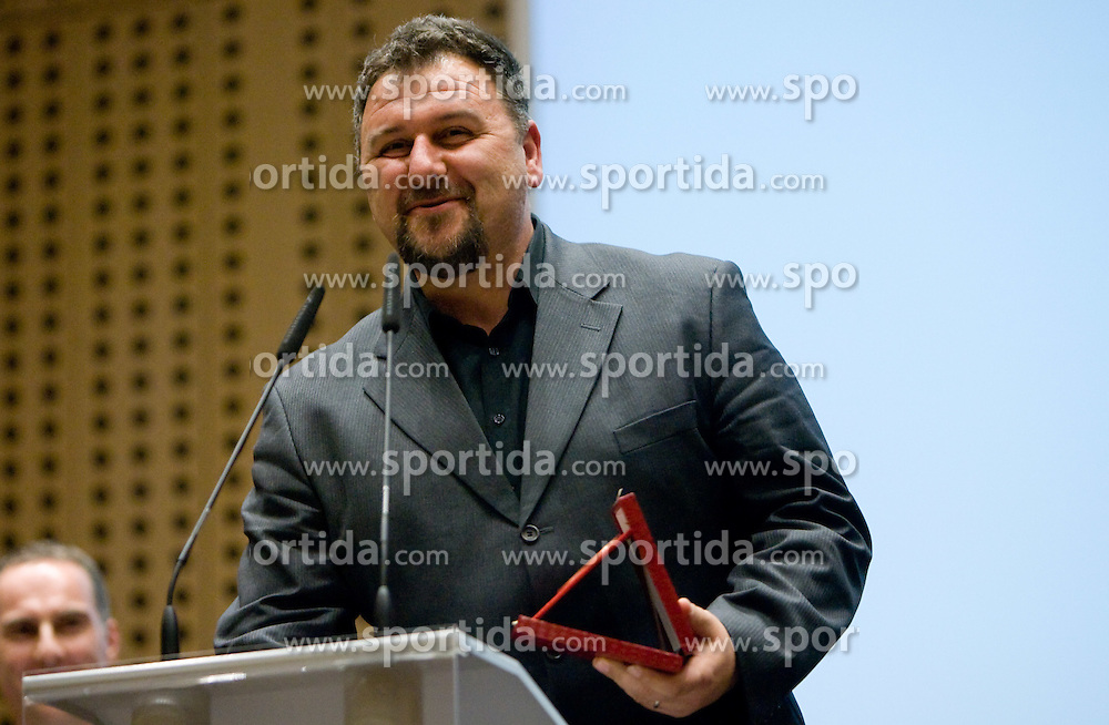 Vladimir Kevo at 45th Awards of Stanko Bloudek for sports achievements in Slovenia in year 2009, on February 9, 2010, Brdo pri Kranju, Slovenia.  (Photo by Vid Ponikvar / Sportida)