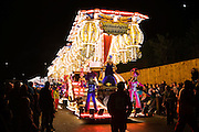 Photo of Burlesque Cabaret by Masqueraders CC at Bridgwater Carnival 2009. Winner of the Feature Cart Open Class.