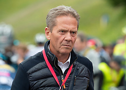 12.07.2019, Kitzbühel, AUT, Ö-Tour, Österreich Radrundfahrt, 6. Etappe, von Kitzbühel nach Kitzbüheler Horn (116,7 km), im Bild Franz Steinberger (Ö-Tour Direktor) // Franz Steinberger director Tour of Austria during 6th stage from Kitzbühel to Kitzbüheler Horn (116,7 km) of the 2019 Tour of Austria. Kitzbühel, Austria on 2019/07/12. EXPA Pictures © 2019, PhotoCredit: EXPA/ Reinhard Eisenbauer