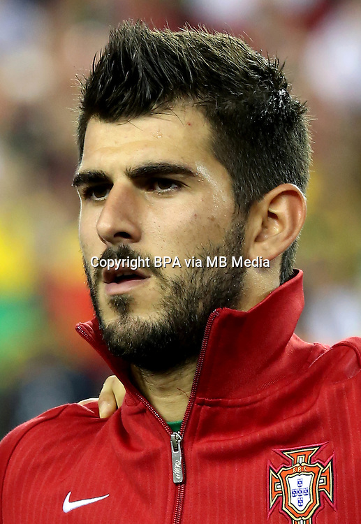 Football Fifa Brazil 2014 World Cup Matchs-Friendly / <br /> Brazil vs  Portugal 3-1  ( Gillette Stadium - Boston , Usa )<br /> NELSON OLIVEIRA of Portugal  , during the Friendly match between Brazil and Portugal