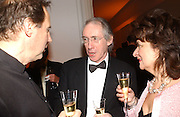 Ian McEwan , National Portrait Gallery  150th Anniversary Fundraising Gala. National Portrait Gallery. London. 28 February 2006. ONE TIME USE ONLY - DO NOT ARCHIVE  © Copyright Photograph by Dafydd Jones 66 Stockwell Park Rd. London SW9 0DA Tel 020 7733 0108 www.dafjones.com