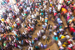 August 20, 2017 - Dhaka, Bangladesh - A number of home goers crowded at Kamalapur railway station in Dhaka on Saturday to book train seats for their destinations to celebrate Eid-ul-Azha, one of the biggest religious festivals of the Muslims, with their near and dear ones in the countryside. (Credit Image: © Azim Knan Ronnie/Pacific Press via ZUMA Wire)
