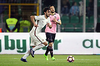 Clement Grenier Roma <br /> Palermo 12-03-2017 Stadio La Favorita Football Calcio Serie A 2016/2017 Palermo - Roma Foto Gino Mancini / Insidefoto