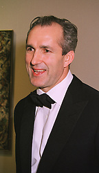 Leading restauranter MR JEREMY KING, at a dinner in London on 8th March 1999.MPC 53