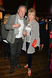PATTIE BOYD and ROD WESTON at a party to celebrate the Astley Clarke & Theirworld Charitable Partnership held at Mondrian London, Upper Ground, London on 10th March 2015.