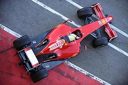 Fellipe Massa (BRA)tests the new Ferrari F60 is launched. 12/01/2009 in Maranello,Italy.
