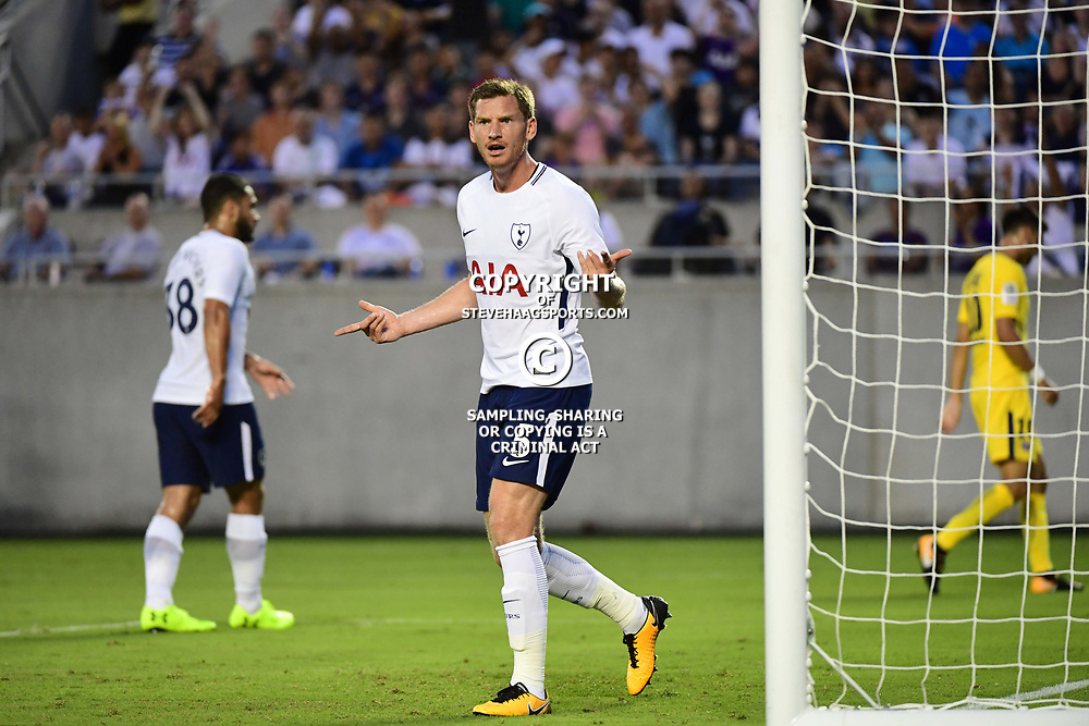 Jan Vertonghen of Spurs during the International Champions Cup match between Paris Saint Germain and Tottenham Hotspur on July 22, 2017 in Orlando, United States. (Photo by Dave Winter/Icon Sport)