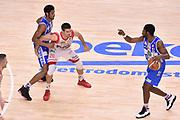DESCRIZIONE : Sassari Lega A 2014-2015 Banco di Sardegna Sassari Grissinbon Reggio Emilia Finale Playoff Gara 6 <br /> GIOCATORE : Jerome Dyson Jeff Brooks<br /> CATEGORIA : palleggio blocco sequenza<br /> SQUADRA : Banco di Sardegna Sassari<br /> EVENTO : Campionato Lega A 2014-2015<br /> GARA : Banco di Sardegna Sassari Grissinbon Reggio Emilia Finale Playoff Gara 6 <br /> DATA : 24/06/2015<br /> SPORT : Pallacanestro<br /> AUTORE : Agenzia Ciamillo-Castoria/GiulioCiamillo<br /> GALLERIA : Lega Basket A 2014-2015<br /> FOTONOTIZIA : Sassari Lega A 2014-2015 Banco di Sardegna Sassari Grissinbon Reggio Emilia Finale Playoff Gara 6<br /> PREDEFINITA :