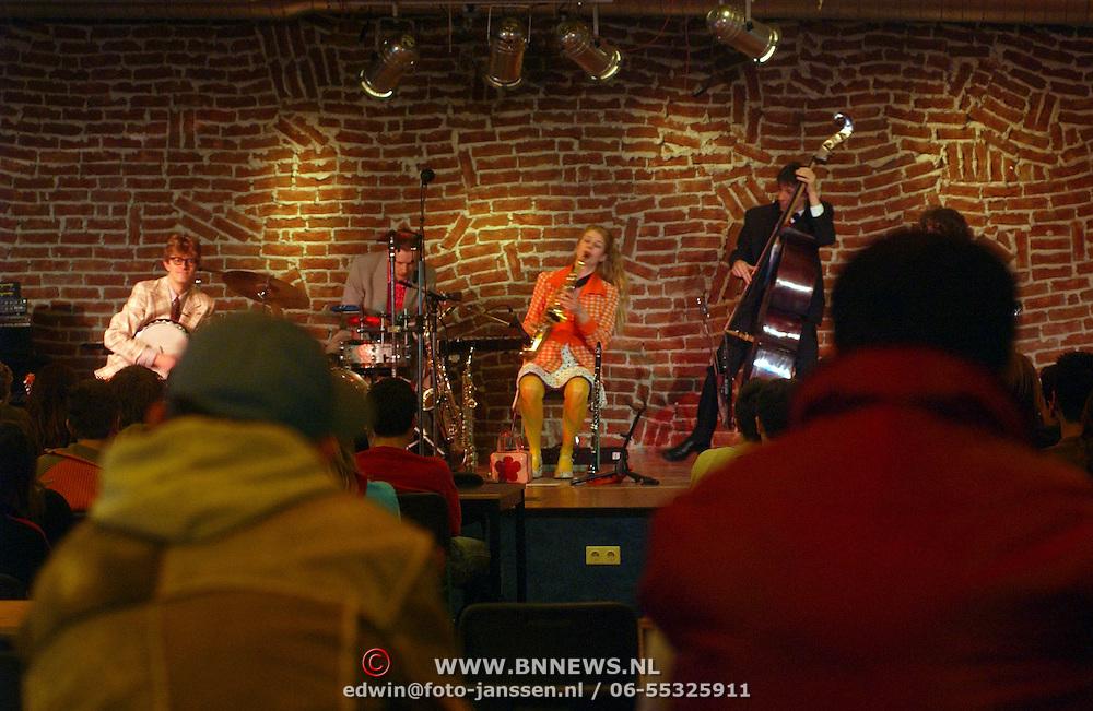 Schoolconcert Erfgooierscollege Huizen door de Comedy band