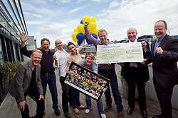 Today FM raise more than €2.2M for the Irish Cancer Society through the help of their listeners who took part in this years Shave or Dye campaign. Pic Andres Poveda