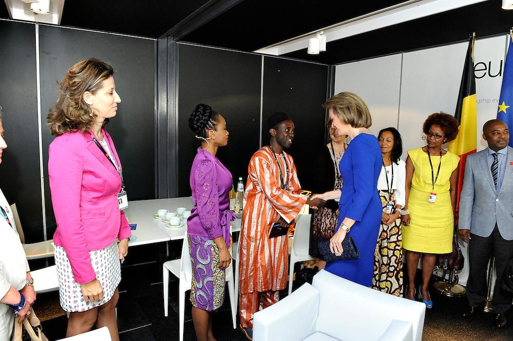 20150604- Brussels - Belgium - 04 June2015 - European Development Days - EDD  - Queen Mathilde of Belgium  © EU/UE