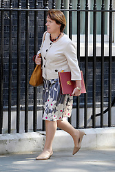 © Licensed to London News Pictures. 26/06/2012. Westminster, UK  Secretary of State for Environment, Food and Rural Affairs CAROLINE SPELMAN on Downing Street today 26th June 2012. Photo credit : Stephen Simpson/LNP