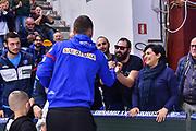 Scott Bamforth, #ForzaScott, Commando Ultra' Dinamo<br /> Banco di Sardegna Dinamo Sassari - Grissin Bon Reggio Emilia<br /> Legabasket Serie A LBA PosteMobile 2018/2019<br /> Sassari, 20/01/2019<br /> Foto L.Canu / Ciamillo-Castoria