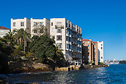 Art Deco Apartments, Kirribilli, Sydney, Australia.
