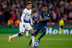 November 6, 2018 - London, Greater London, England - Dele Alli of Tottenham Hotspur during the UEFA Champions League Group Stage match between Tottenham Hotspur and PSV Eindhoven at Wembley Stadium, London, England on 6 November 2018. Photo by Salvio Calabrese. (Credit Image: © AFP7 via ZUMA Wire)