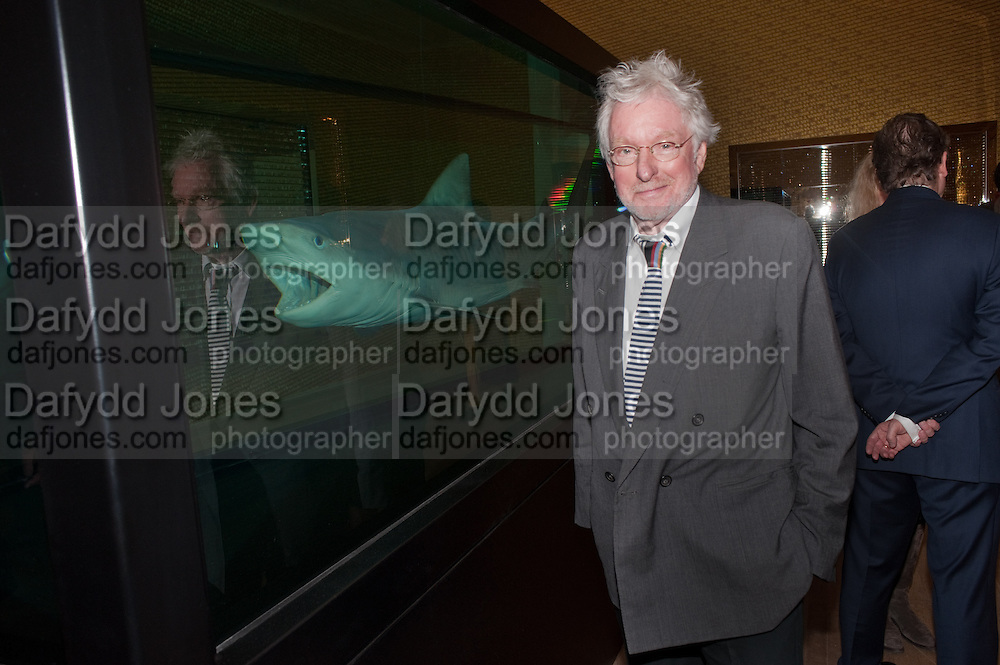 HUGH HUDSON, Damien Hirst, Tate Modern: dinner. 2 April 2012.