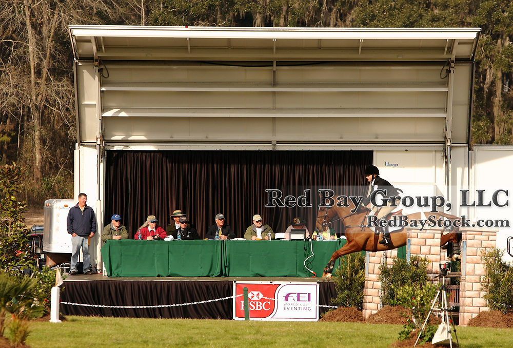 Announcer at the 2010 HSBC FEI World Cup Eventing Qualifier at Red Hills Horse Trials in Tallahassee, Florida