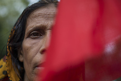 May 1, 2017 - Dhaka, Bangladesh - Bangladeshi garment workers and other labor organization members take part in a rally to mark May Day, International Workers' Day in Dhaka, Bangladesh on May 01, 2017. (Credit Image: © Zakir Hossain Chowdhury/NurPhoto via ZUMA Press)