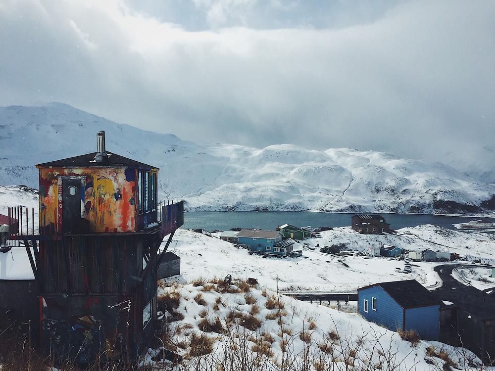 Custom paint job, Dutch Harbor, Alaska. Taken with an iPhone