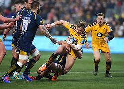 Josh Bassett of Wasps - Mandatory by-line: Alex James/JMP - 25/01/2020 - RUGBY - Sixways Stadium - Worcester, England - Worcester Warriors v Wasps - Gallagher Premiership Rugby